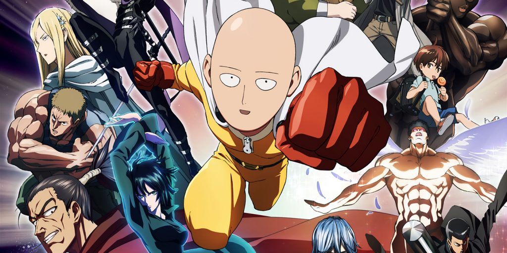 One Punch Man Season 2 Episode 8
