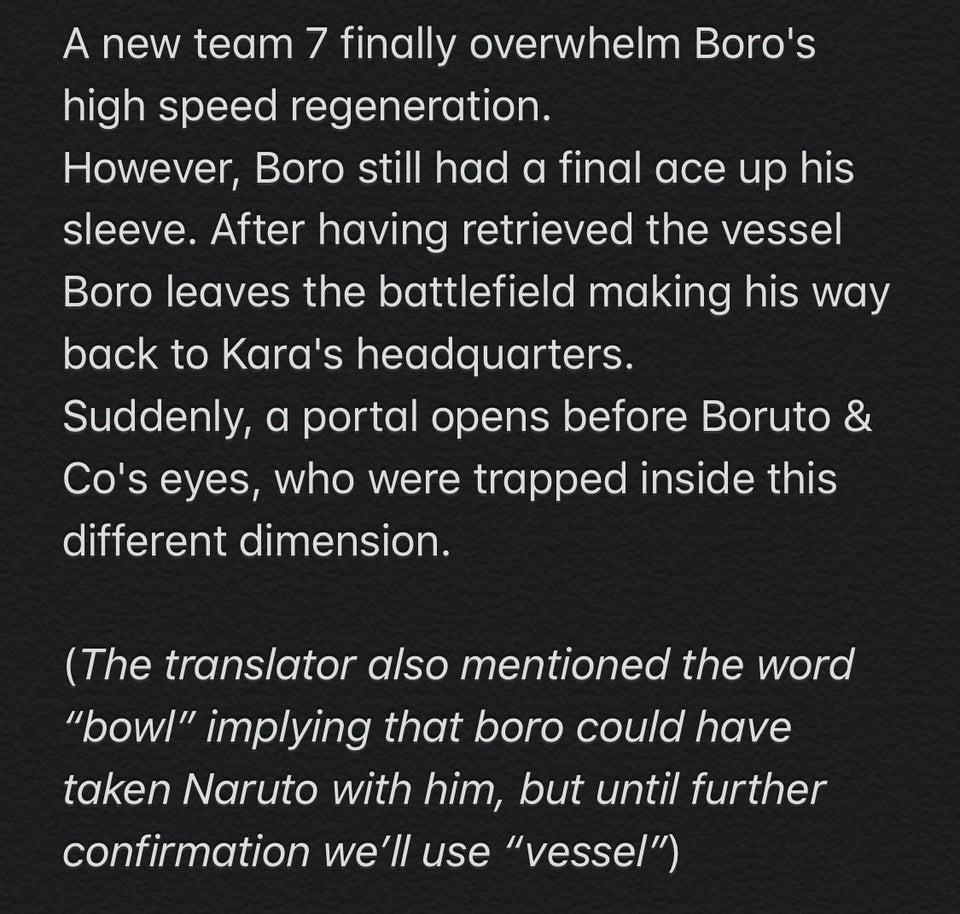 Boruto Chapter 43