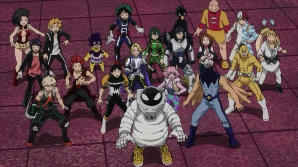 My Hero Academia Chapter 265